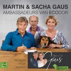 Martin & Sacha Gaus ambassadeurs van Ecodor