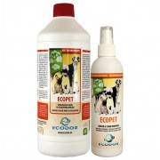 EcoPet Odour and Stain remover - 0,25 ltr + 1 ltr refill